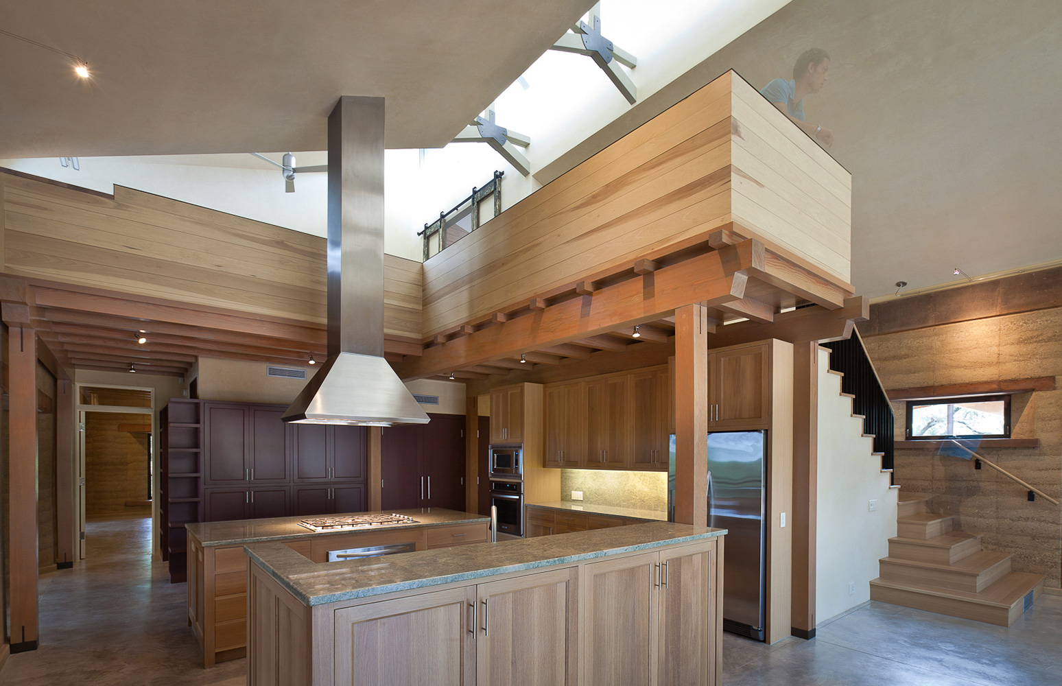 Rammed earth ranch classic constructors for Modern mud house designs