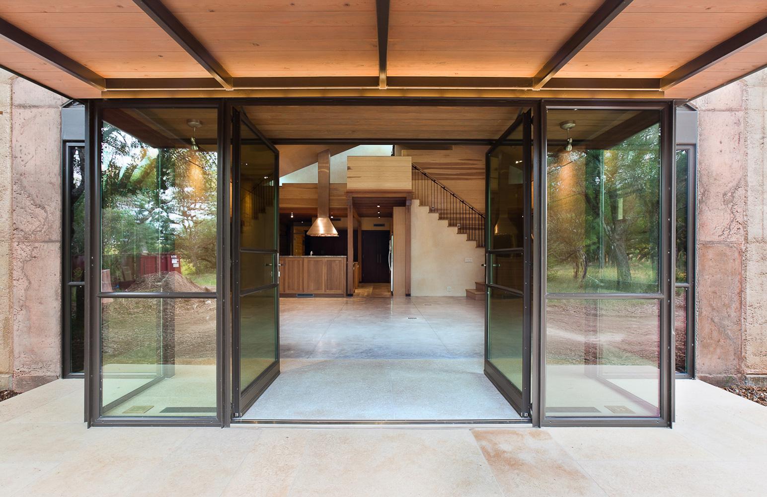 1000 #925D39 Rammed Earth Ranch Classic Constructors wallpaper Entry Doors Austin Tx 39451544